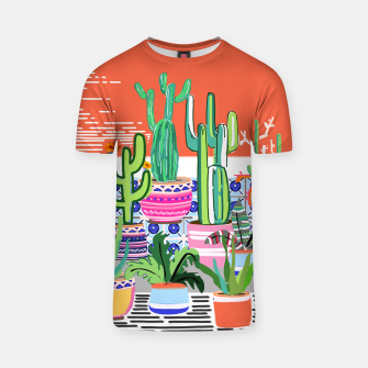 Thumbnail image of Cactus Window T-shirt, Live Heroes