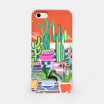 Thumbnail image of Cactus Window iPhone Case, Live Heroes