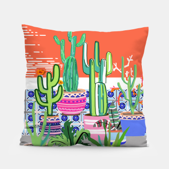 Thumbnail image of Cactus Window Pillow, Live Heroes
