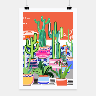 Thumbnail image of Cactus Window Poster, Live Heroes
