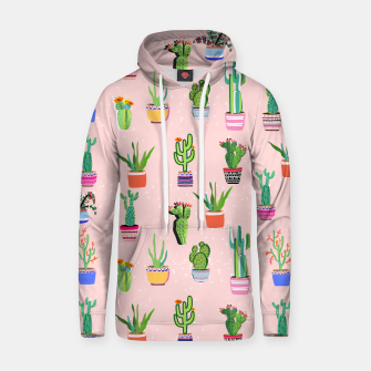 Thumbnail image of Cacti Land 2 Cotton hoodie, Live Heroes
