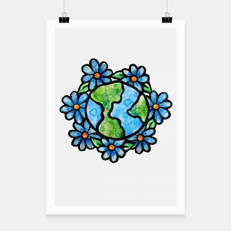 Thumbnail image of Earth Poster, Live Heroes