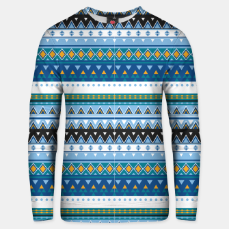 Thumbnail image of Aztec and Nordic Pattern Ice Cotton sweater, Live Heroes