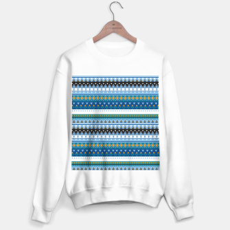 Thumbnail image of Aztec and Nordic Pattern Ice Sweater regular, Live Heroes