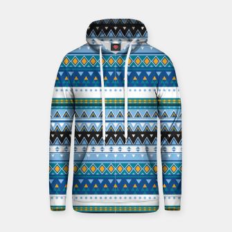 Thumbnail image of Aztec and Nordic Pattern Ice Cotton hoodie, Live Heroes