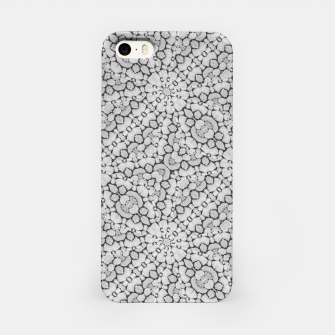 Thumbnail image of Geometric Grey Print Pattern iPhone Case, Live Heroes