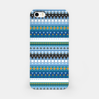 Thumbnail image of Aztec and Nordic Pattern Ice iPhone Case, Live Heroes