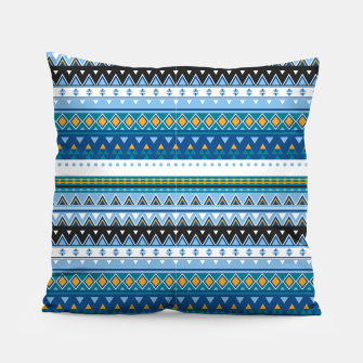 Thumbnail image of Aztec and Nordic Pattern Ice Pillow, Live Heroes