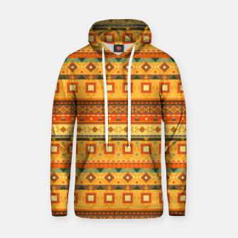 Thumbnail image of Aztec and Nordic Pattern Autumn Cotton hoodie, Live Heroes