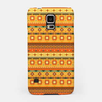Thumbnail image of Aztec and Nordic Pattern Autumn Samsung Case, Live Heroes