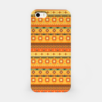 Thumbnail image of Aztec and Nordic Pattern Autumn iPhone Case, Live Heroes