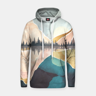Thumbnail image of Summer Reflection Cotton hoodie, Live Heroes