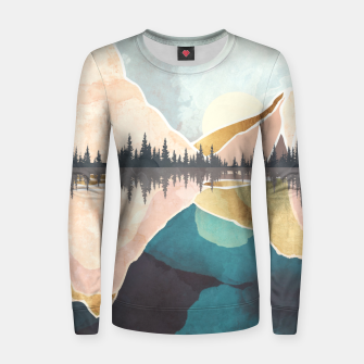 Thumbnail image of Summer Reflection Woman cotton sweater, Live Heroes