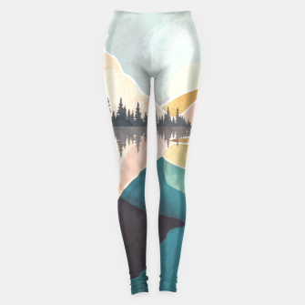 Thumbnail image of Summer Reflection Leggings, Live Heroes