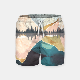 Thumbnail image of Summer Reflection Swim Shorts, Live Heroes