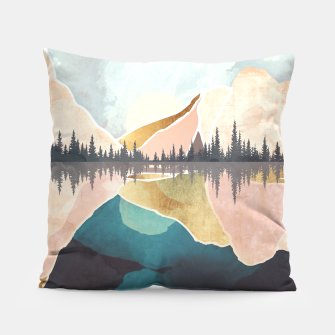 Thumbnail image of Summer Reflection Pillow, Live Heroes
