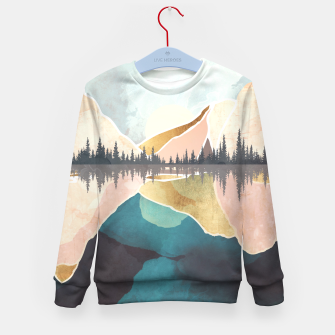 Thumbnail image of Summer Reflection Kid's sweater, Live Heroes