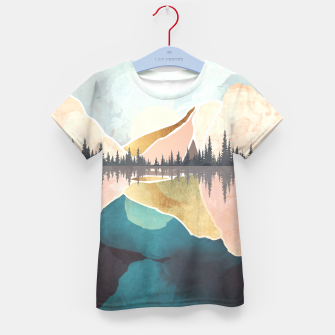 Thumbnail image of Summer Reflection Kid's t-shirt, Live Heroes