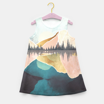 Thumbnail image of Summer Reflection Girl's summer dress, Live Heroes