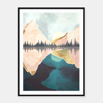 Thumbnail image of Summer Reflection Framed poster, Live Heroes