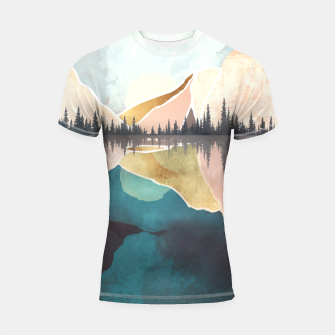 Thumbnail image of Summer Reflection Shortsleeve rashguard, Live Heroes