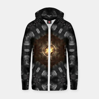 Thumbnail image of The Trialyn Core Cotton zip up hoodie, Live Heroes