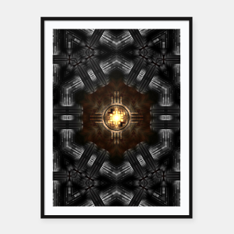 Thumbnail image of The Trialyn Core Framed poster, Live Heroes