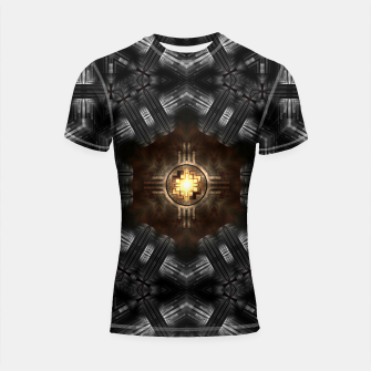 Thumbnail image of The Trialyn Core Shortsleeve rashguard, Live Heroes