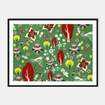 Miniatur Dreamy Forest Framed poster, Live Heroes
