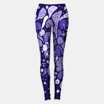 Thumbnail image of Floating flora Leggings, Live Heroes