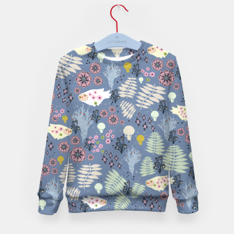 Thumbnail image of Happy Virus Kid's sweater, Live Heroes