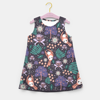 Thumbnail image of Dreamy Wonderland Girl's summer dress, Live Heroes