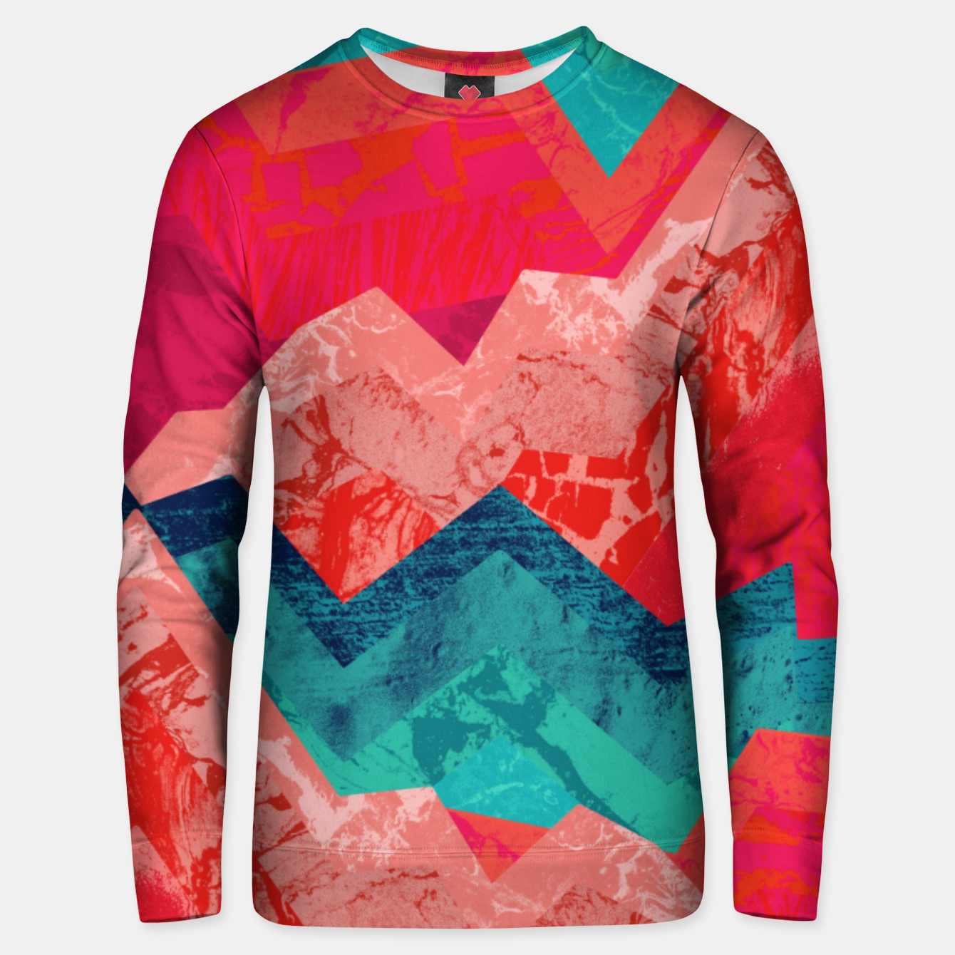 Image de The red textured hills  Cotton sweater - Live Heroes