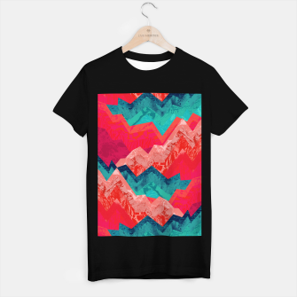 The red textured hills  T-shirt regular miniature