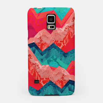 The red textured hills  Samsung Case miniature