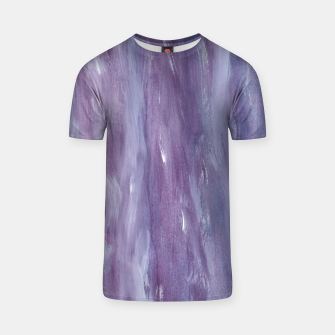 Miniaturka Touching Purple Blue Watercolor Abstract #1 #painting #decor #art  T-Shirt, Live Heroes