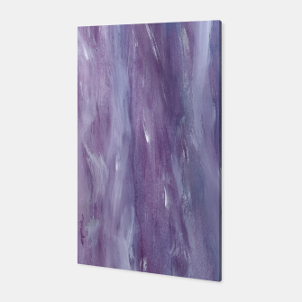 Miniaturka Touching Purple Blue Watercolor Abstract #1 #painting #decor #art  Canvas, Live Heroes
