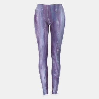 Miniaturka Touching Purple Blue Watercolor Abstract #1 #painting #decor #art  Leggings, Live Heroes