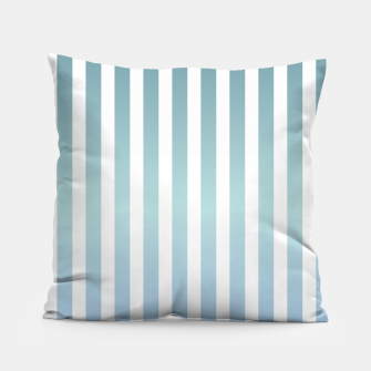 Thumbnail image of Soft pastel pinstripe Pillow, Live Heroes