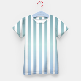 Thumbnail image of Soft pastel pinstripe Kid's t-shirt, Live Heroes