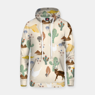 Thumbnail image of Dreamy Desert Cotton hoodie, Live Heroes