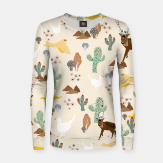 Miniaturka Dreamy Desert Woman cotton sweater, Live Heroes