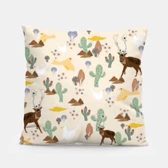Thumbnail image of Dreamy Desert Pillow, Live Heroes