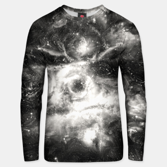 Thumbnail image of Black & White Galaxy Cotton sweater, Live Heroes