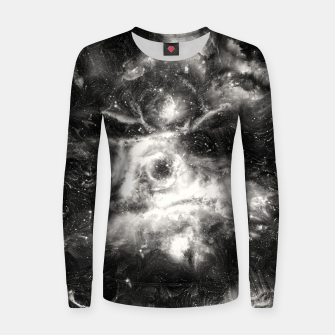 Miniaturka Black & White Galaxy Woman cotton sweater, Live Heroes