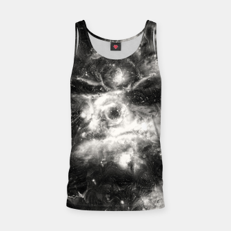 Thumbnail image of Black & White Galaxy Tank Top, Live Heroes