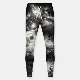 Thumbnail image of Black & White Galaxy Cotton sweatpants, Live Heroes