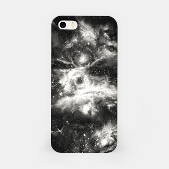 Thumbnail image of Black & White Galaxy iPhone Case, Live Heroes