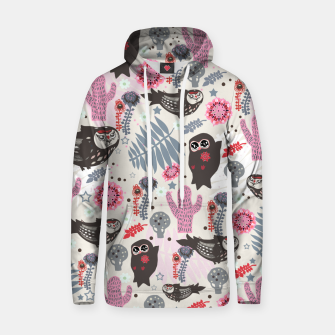 Thumbnail image of Playful Forest Cotton hoodie, Live Heroes