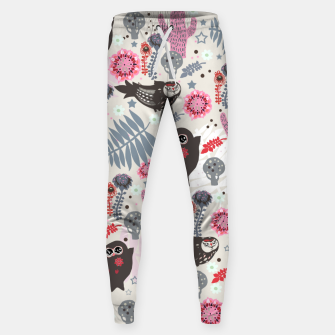 Thumbnail image of Playful Forest Cotton sweatpants, Live Heroes